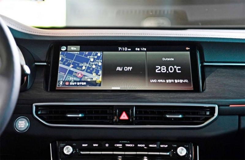 Kia K7 Premier 2019 – седан Киа К7 многогранно обновился