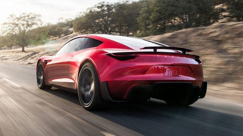 Tesla Roadster 2020 – сверх быстрый электрический родстер