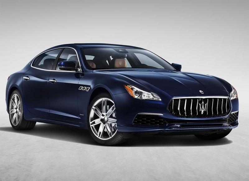 Новый Maserati Quattroporte – рестайлинг седана спорткара