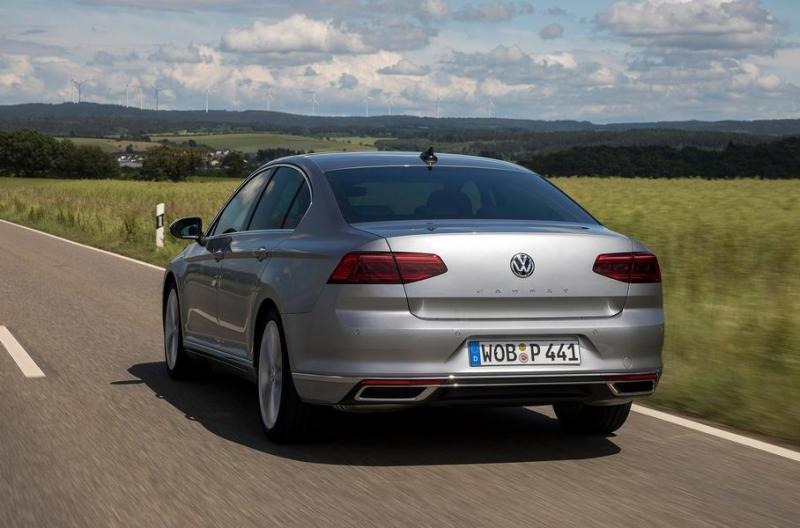 Первый тест обновленного VW Passat