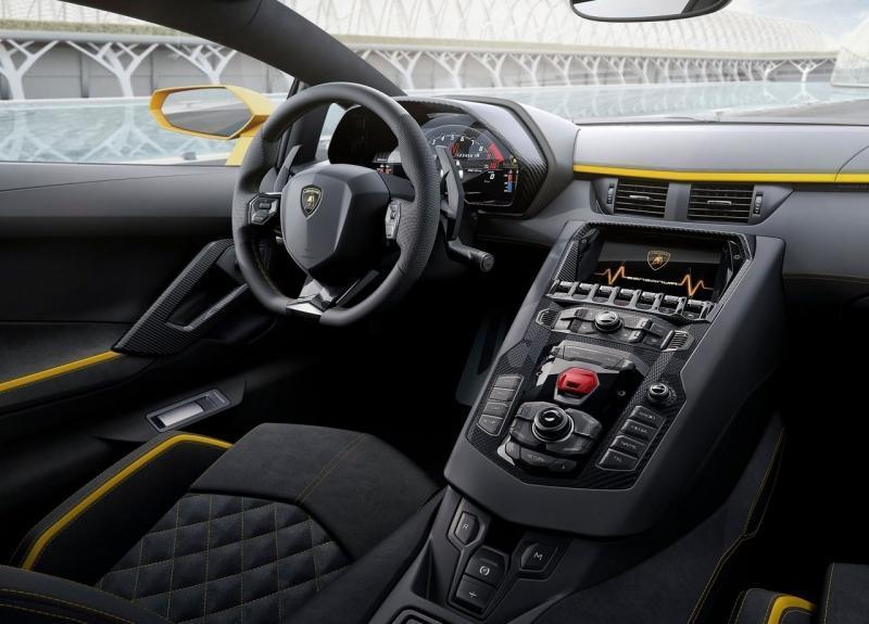 Lamborghini Aventador S – обновленный Ламборджини Авентадор