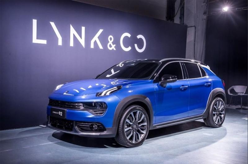 Lynk & Co 02 2018 – новый  паркетник бренда Lynk & Co