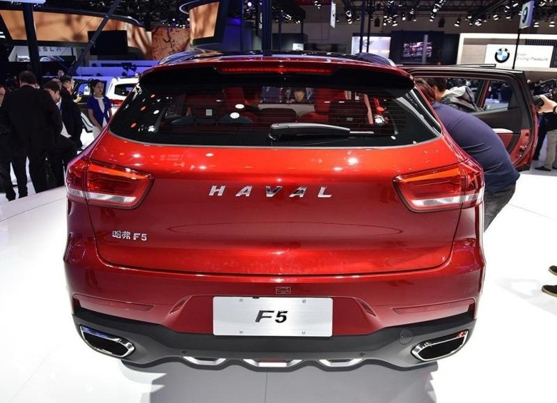 Haval F5 2018 – родной брат паркетника WEY VV5