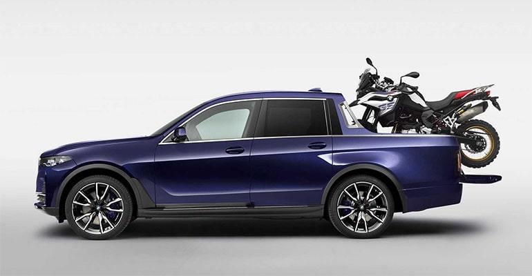 BMW X7 Pick-up 2020 – пикап БМВ… это не сон