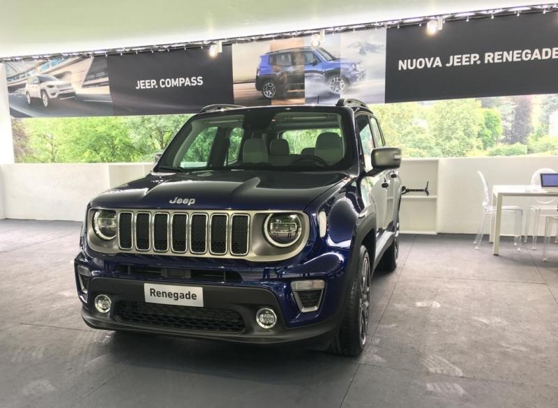 Jeep Renegade 2019 – плановый рестайлинг кроссовера Джип Ренегат