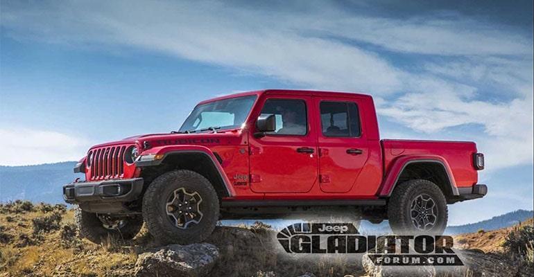 Jeep Gladiator 2019 – новый американский пикап Джип Гладиатор