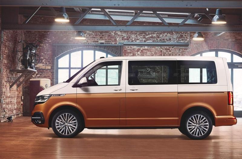 Volkswagen Multivan первым обновился до версии T6.1