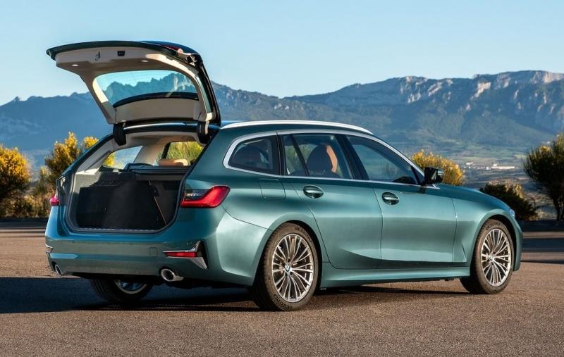 Новый универсал BMW 3-Series Touring G21 2019