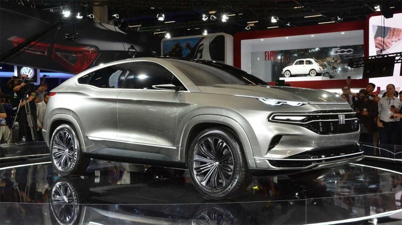 Fiat Fastback Concept 2018 – предвестник конкурента Renault Arkana