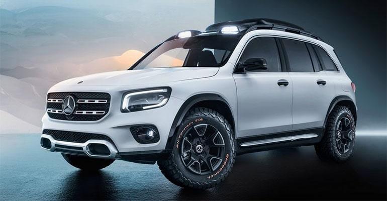 Mercedes-Benz GLB Concept 2019 – новый Мерседес ГЛБ… пока концепт