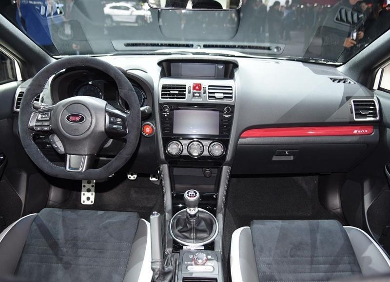 Subaru STI S209 2019 – лимитированный спорт-седан Субару