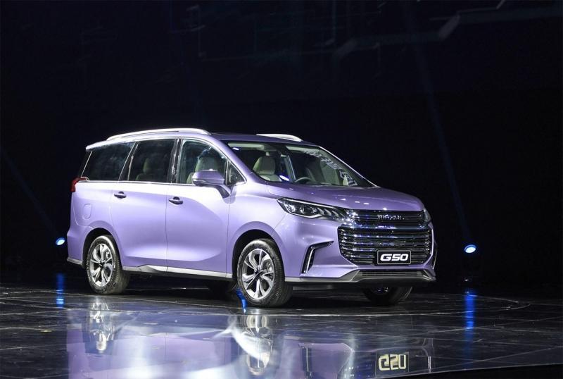Maxus D50 2018 – новый компактвэн китайского концерна SAIC