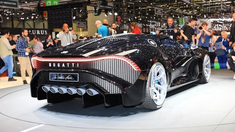 Bugatti La Voiture Noire 2019 – самый дорогой автомобиль в мире