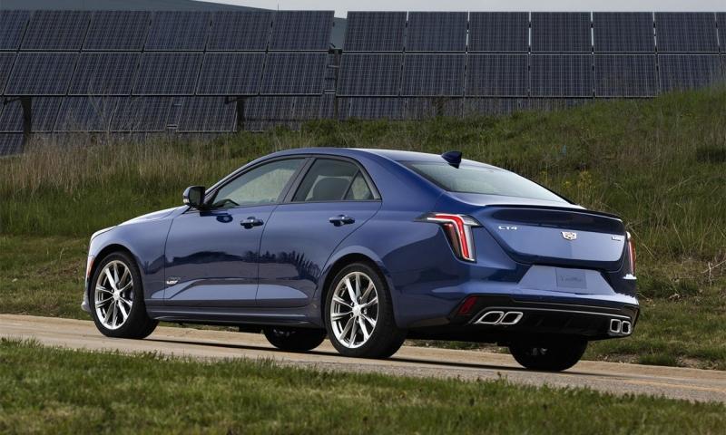Cadillac CT4 2020 – новый американский седан Кадиллак СТ4