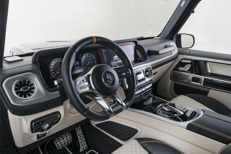 Brabus 700 Widestar 2019 – эксклюзивный внедорожник на основе Mercedes-AMG G 63