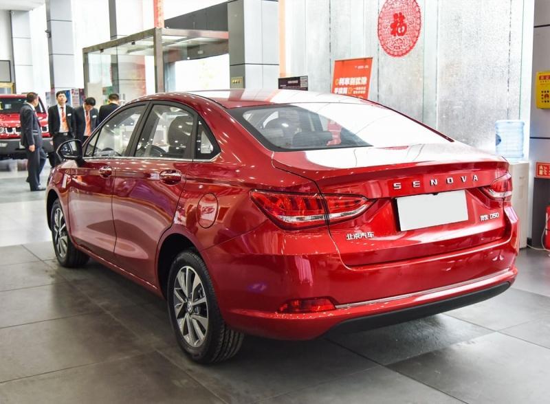 Senova D50 2018 – новый седан для Китая