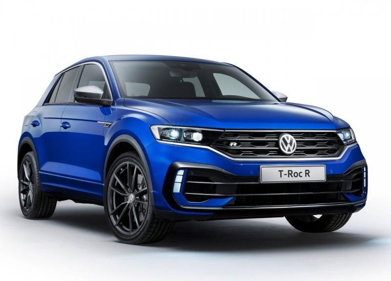 Volkswagen T-Roc R 2019 – Фольксваген Т-Рок c 300-сильным мотором