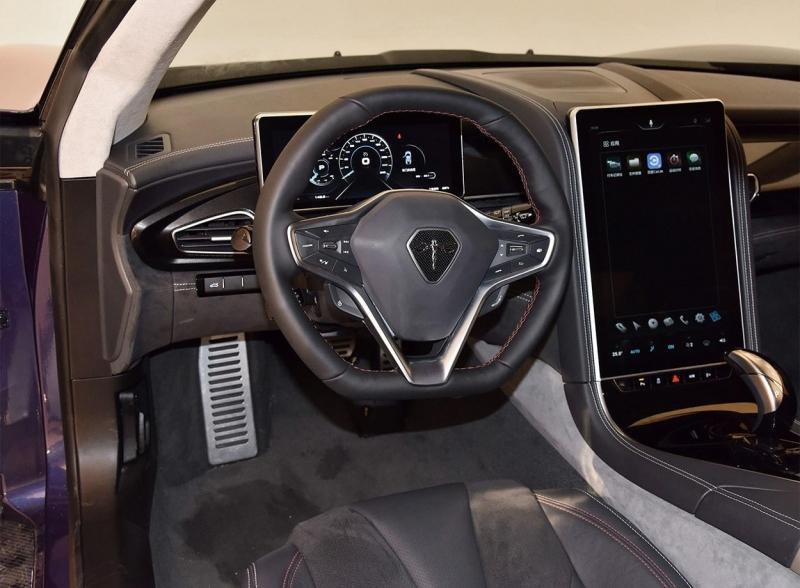 Qiantu K50 2018 – новый китайский электрический спорткар