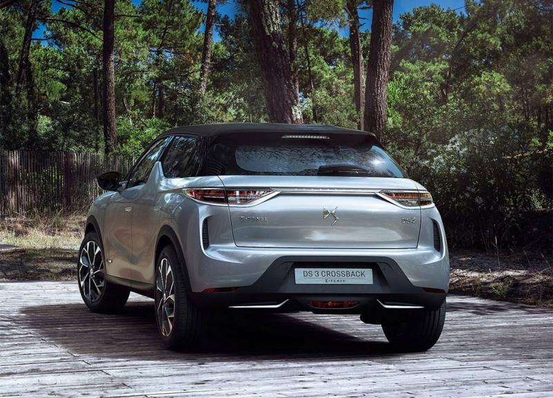 DS 3 Crossback 2019 – новый французский паркетник