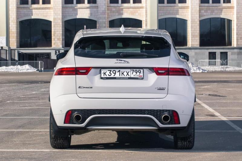 Длительный тест Jaguar E-Pace