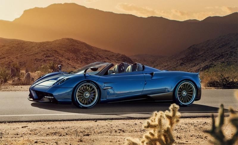 Pagani Huayra Roadster – родстер суперкар за 140 миллионов