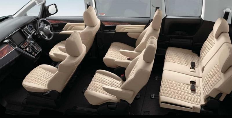 Mitsubishi Delica D5 2019 – минивэн Митсубиси Делика пережил рестайлинг