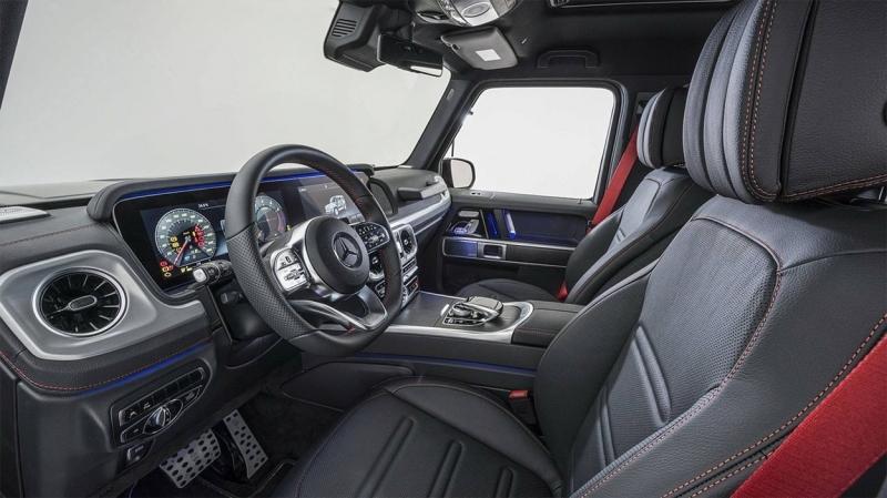 Brabus Mercedes-Benz G500 2019 – Брабус прокачал новый Гелендваген
