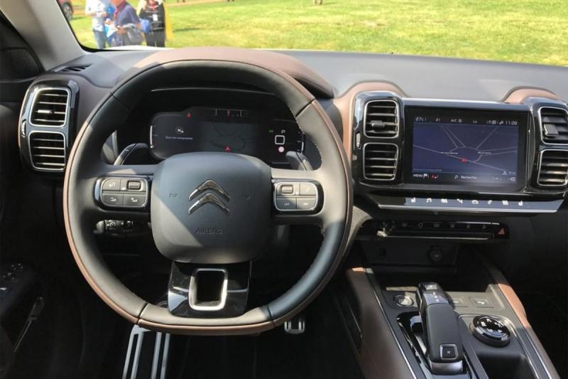 Citroen C5 Aircross 2019 – европейская версия Ситроен С5 Аиркросс