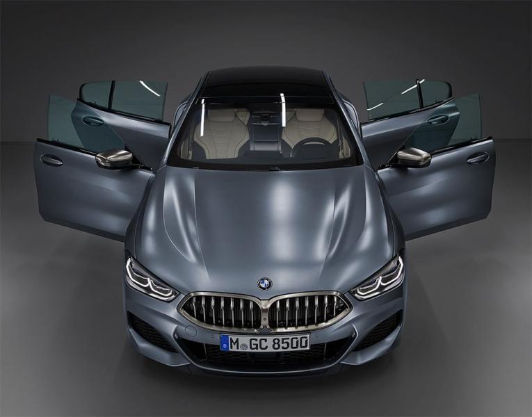 BMW 8-Series Gran Coupe 2019 – большое баварское купе