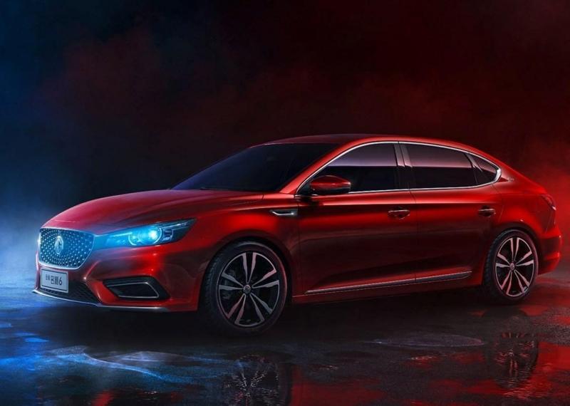 MG 6 2018 – второе поколение модели