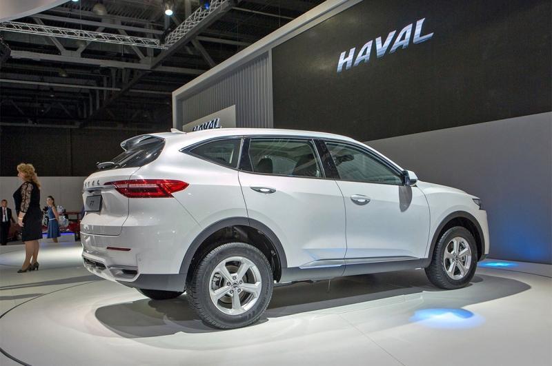 Haval F7 2018 – китайский кроссовер Хавал Ф7 в России