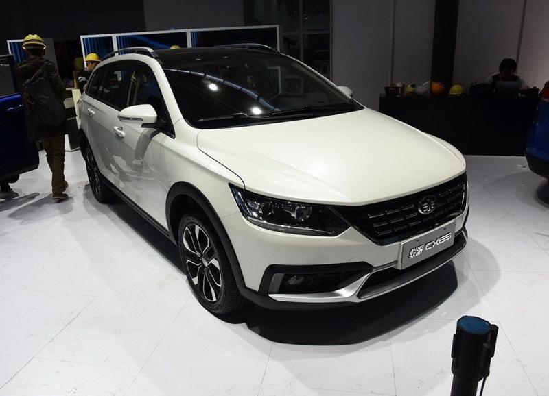 FAW Junpai CX65 2018 – новый китайский кросс-универсал