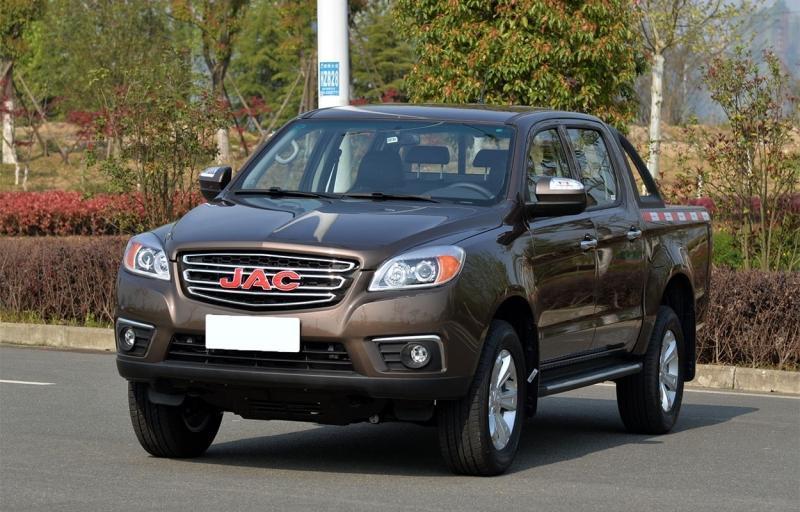 JAC T6 2018 – китайский пикап Джак Т6 в России