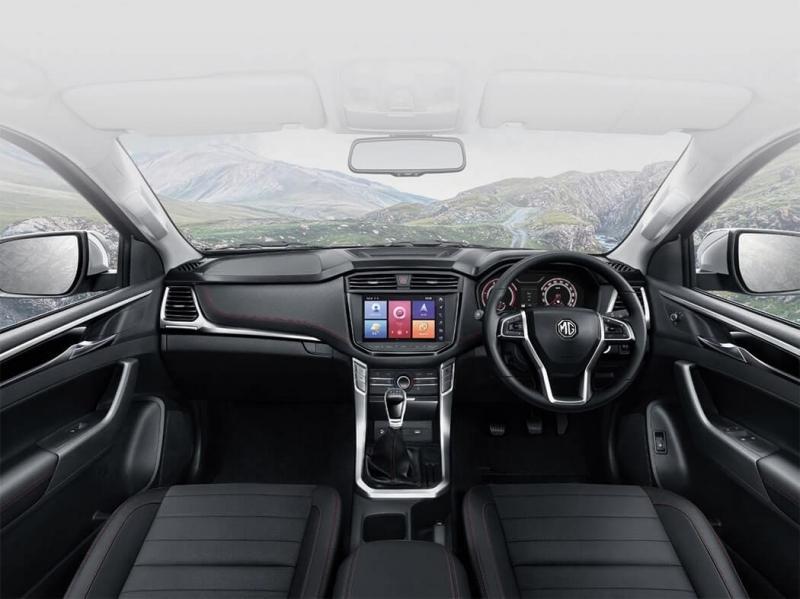 MG Extender 2019 – официальный клон пикапа Maxus T70