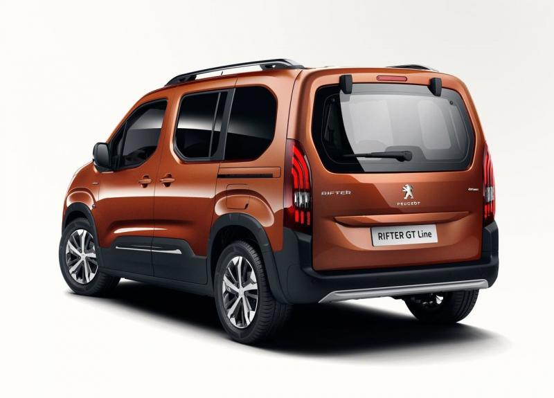 Peugeot Rifter 2018 – брат-близнец Citroen Berlingo и Opel Combo
