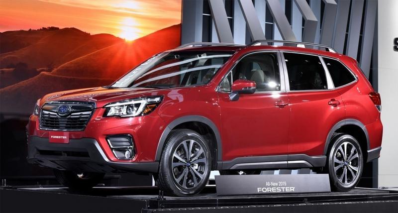 Subaru Forester 2019 – новое 5 поколение Субару Форестер