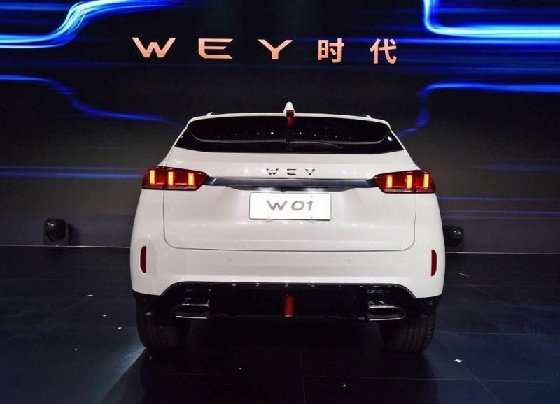 Новые китайские кроссоверы Wey W01 и W02