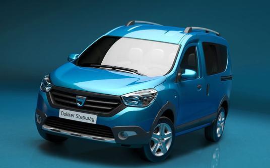 Dacia Renault Dokker Stepway 2013