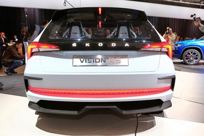 Skoda Vision RS 2018 – предвестник «заряженных» RS-моделей Шкода