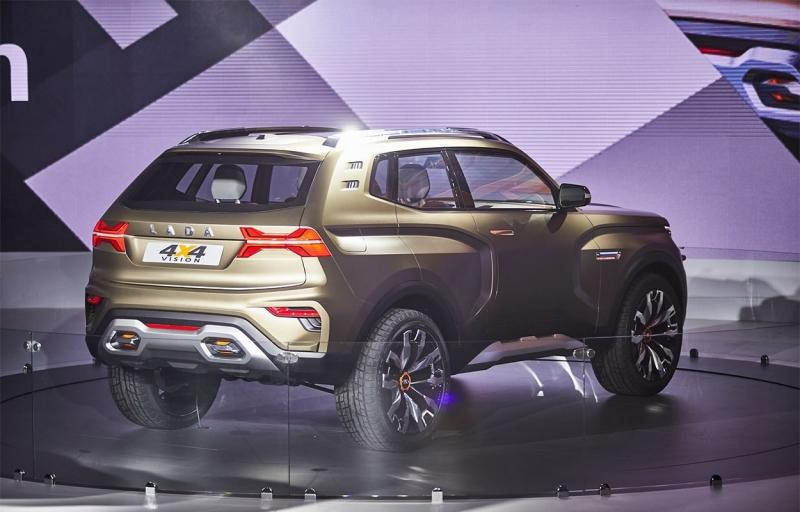Lada 4×4 Vision 2018 года – прототип новой модели Лада 4х4
