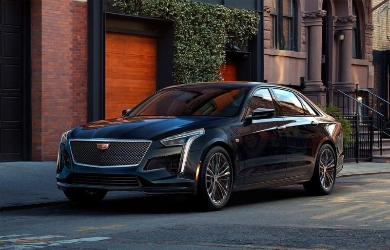 Cadillac CT6 2019 – обновленный флагман Кадиллак