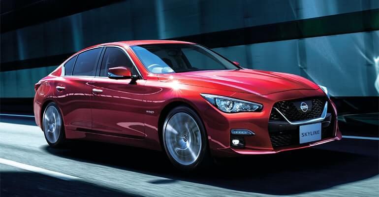 Nissan Skyline 2020 – рестайлинг вернул седану индивидуальность