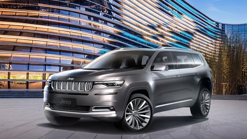 Jeep Grand Commander 2018 – большой кроссовер для Китая