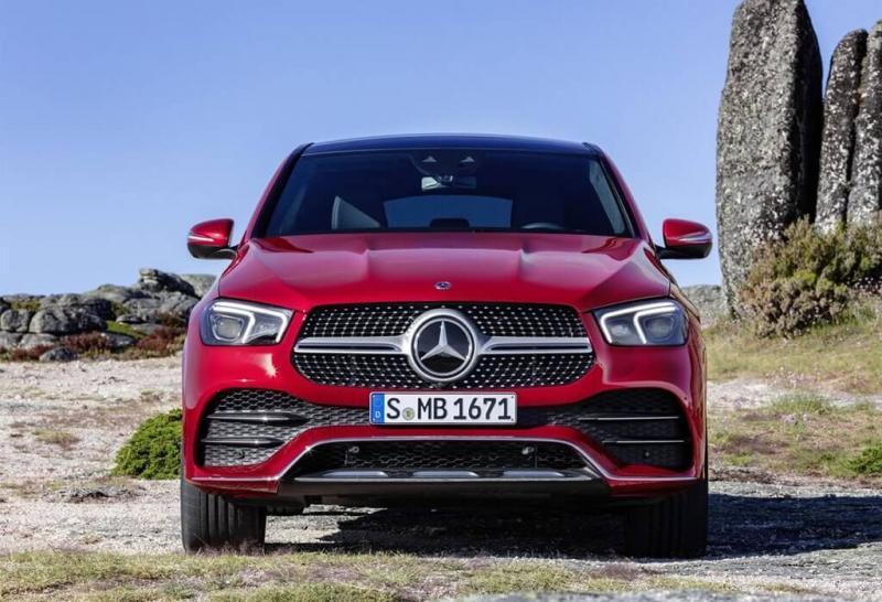 Mercedes GLE Coupe 2020 – новое поколение большого кросс-купе