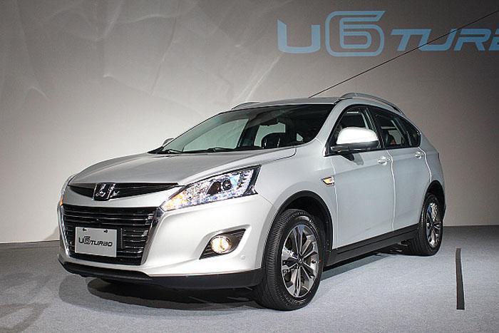 Luxgen U6 Turbo – новый паркетник будет продаваться в России