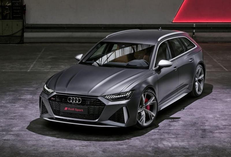 Audi RS6 Avant 2020 – новое поколение заряженного универсала Ауди