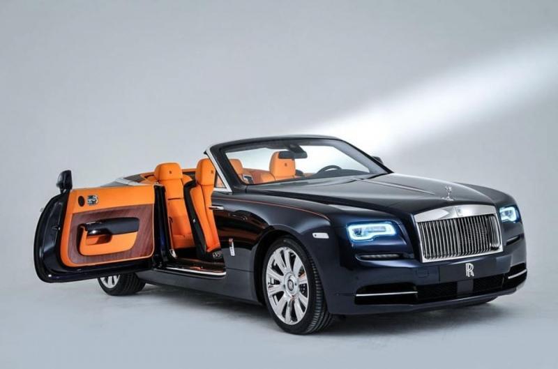 Кабриолет Rolls-Royce Dawn – роскошь в чистом виде