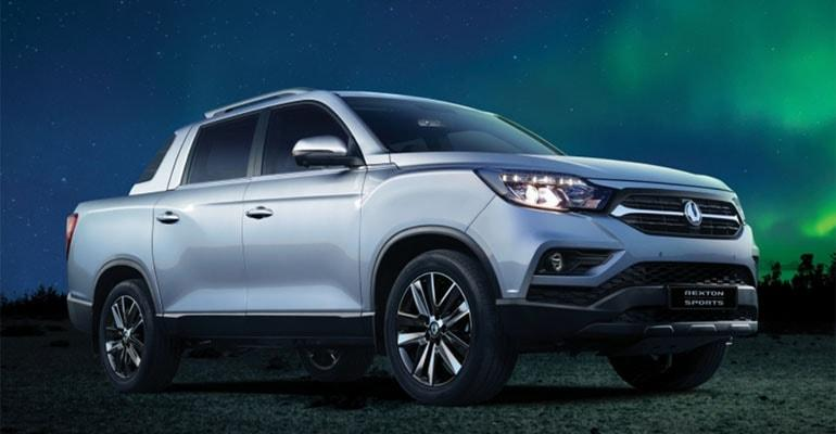 SsangYong Rexton Sports 2018 – новый пикап SsangYong Motor Company