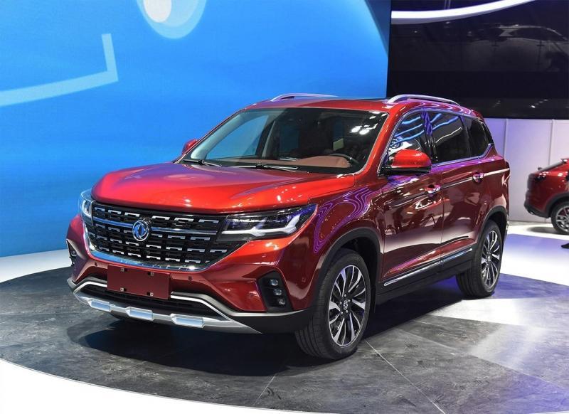 Dongfeng T5 2018 – китайский кроссовер с мотором BMW