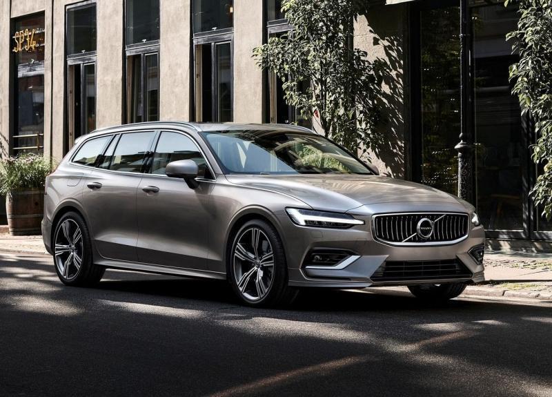 Volvo V60 2019 – младший брат универсала Volvo V90
